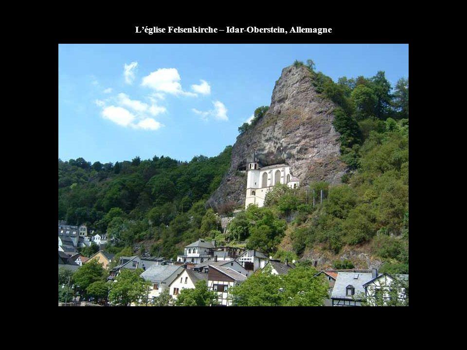 L'église Felsenkirche – Idar-Oberstein, Allemagne