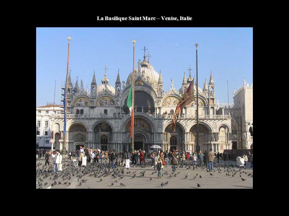 La Basilique Saint Marc – Venise, Italie