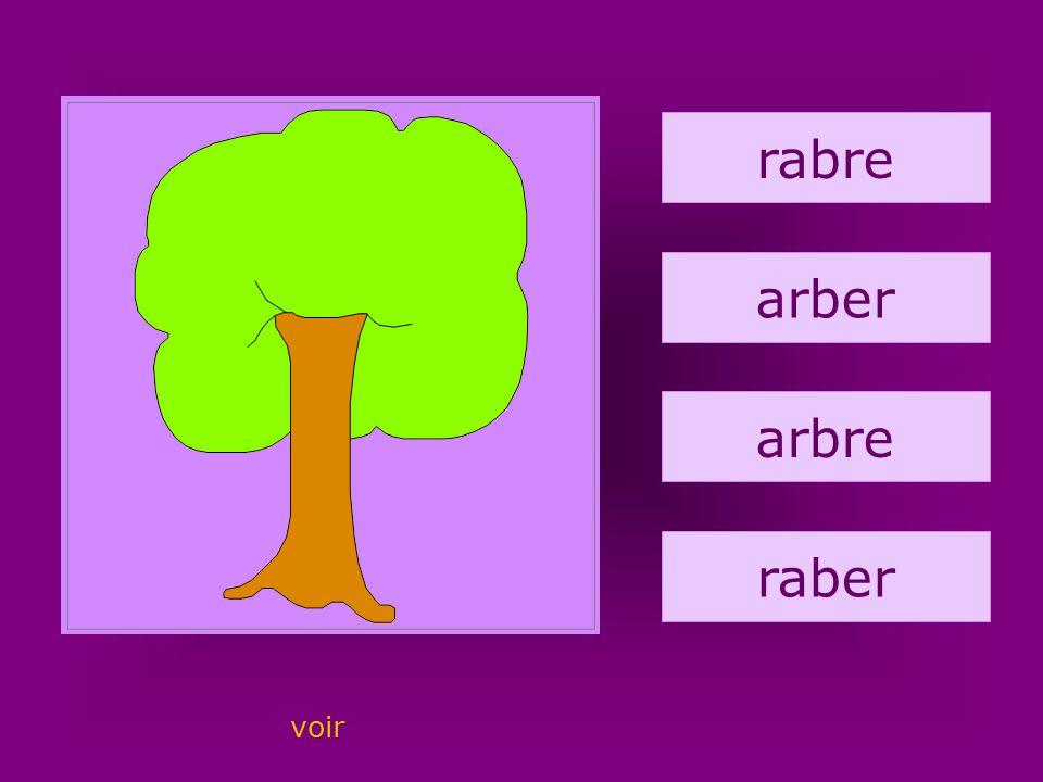 11. arbre rabre arber arbre raber voir