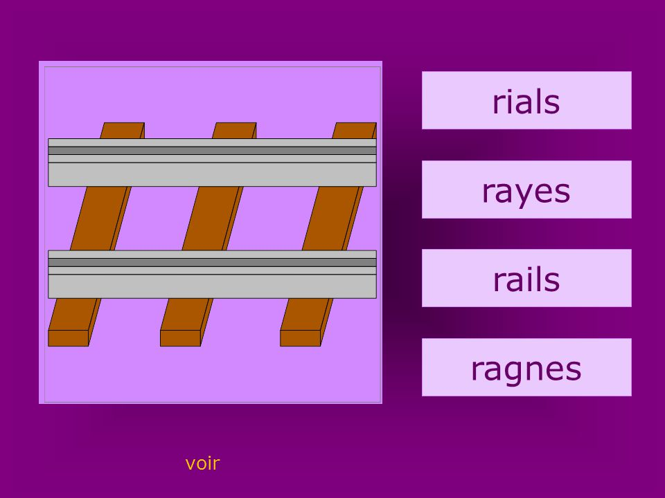 17. rails rials rayes rails ragnes voir