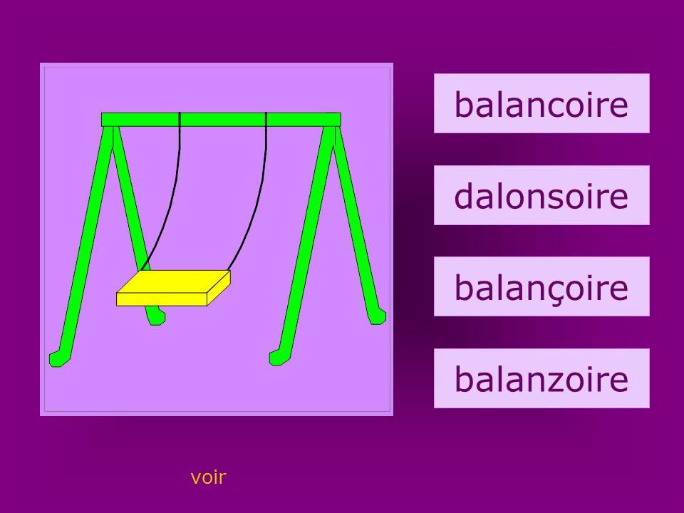 23. balançoire balancoire dalonsoire balançoire balanzoire voir