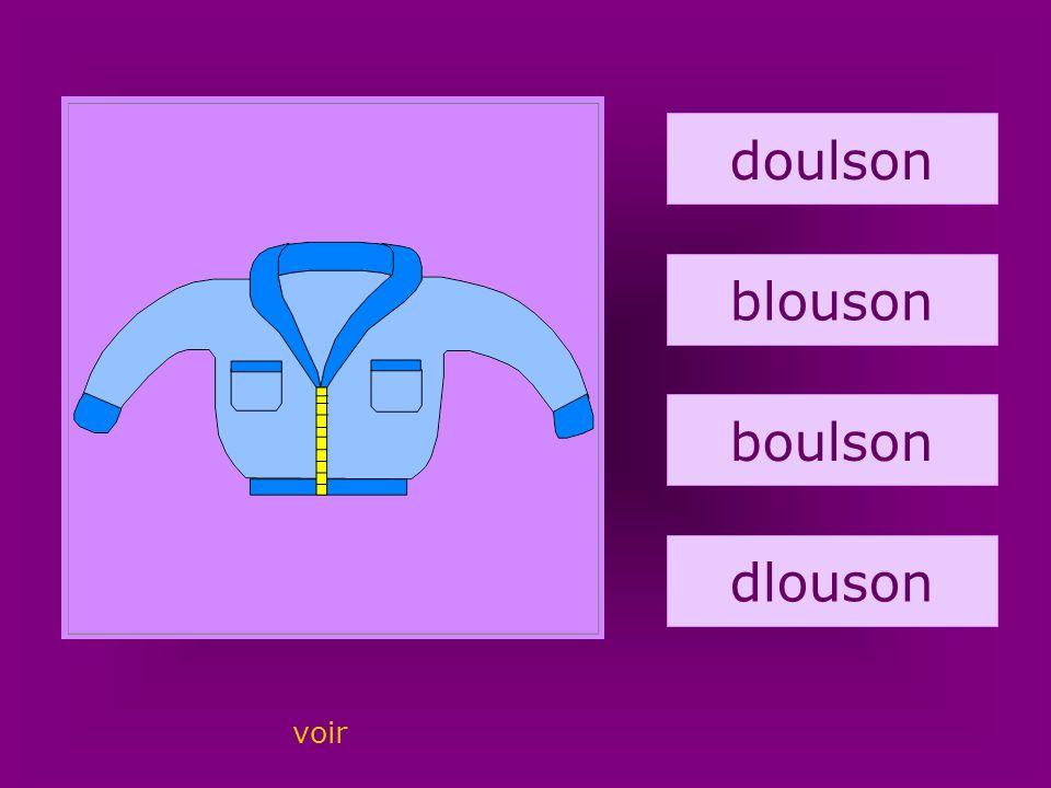 2. blouson doulson blouson boulson dlouson voir