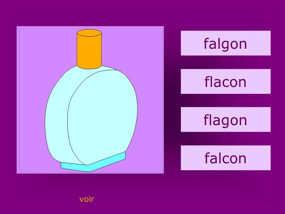 36. flacon falgon flacon flagon falcon voir