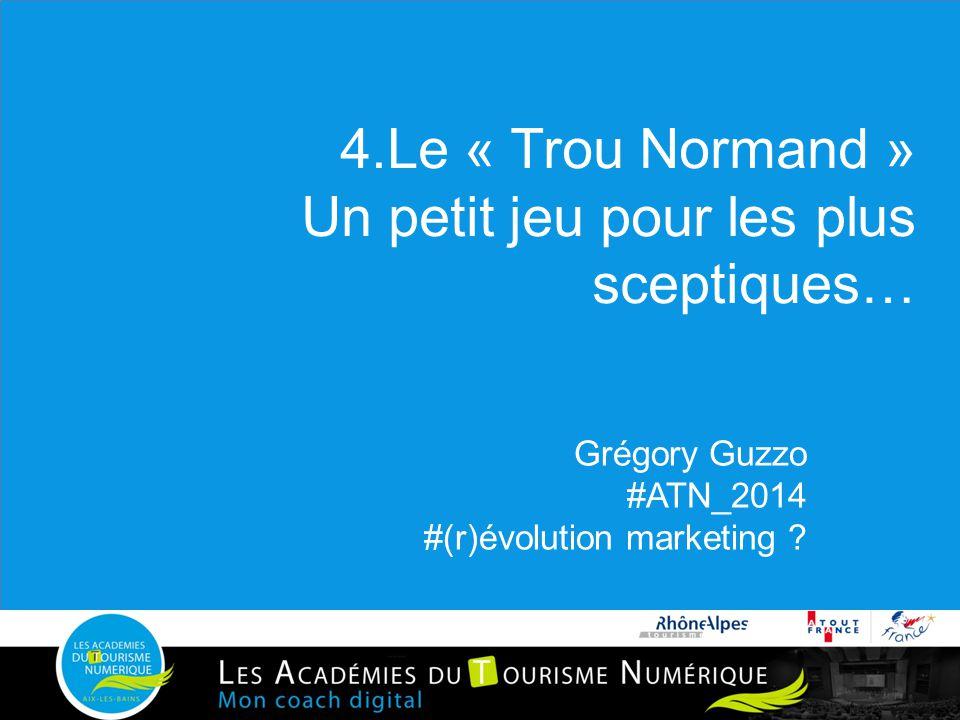 4.Le « Trou Normand » Un petit jeu pour les plus sceptiques…