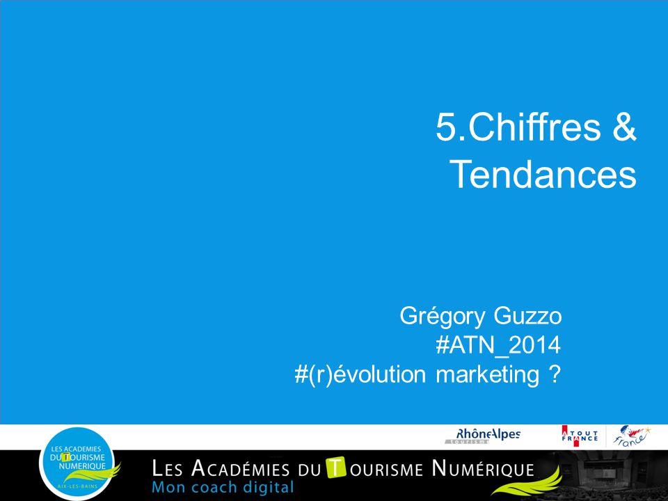 5.Chiffres & Tendances Grégory Guzzo #ATN_2014