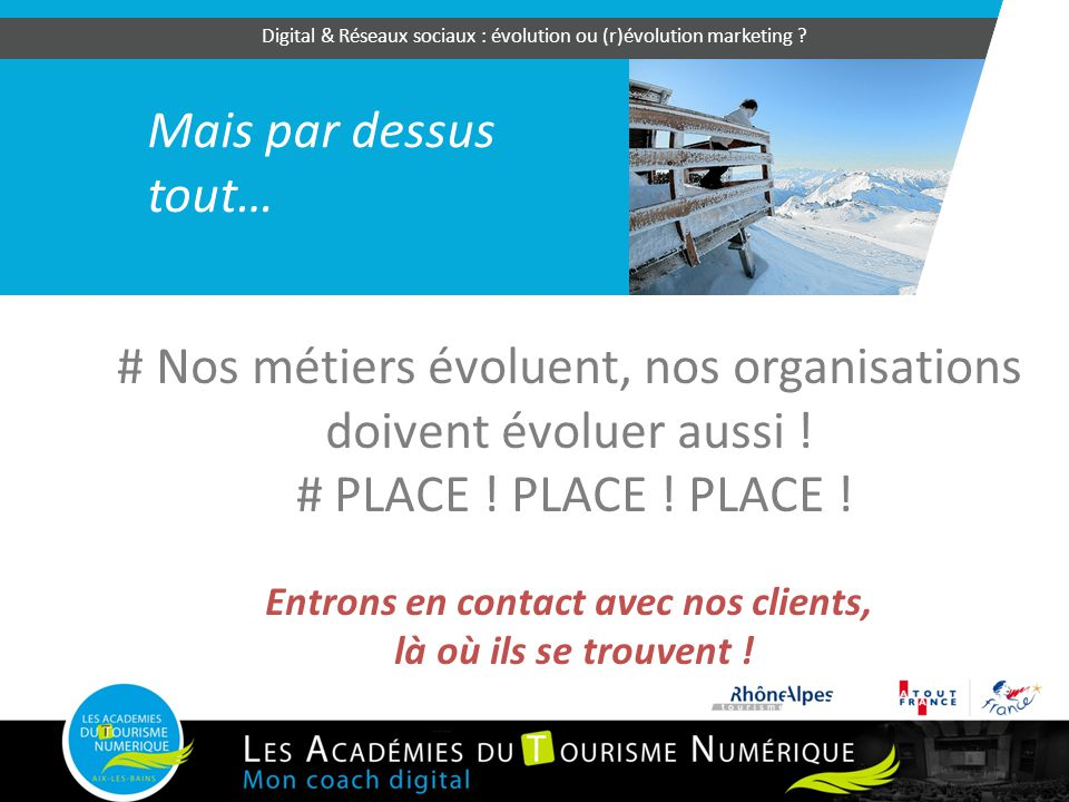 Entrons en contact avec nos clients,