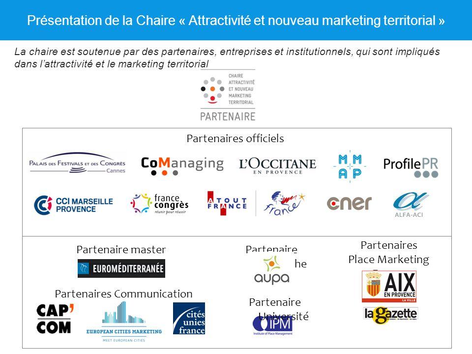 Présentation de la Chaire « Attractivité et nouveau marketing territorial »