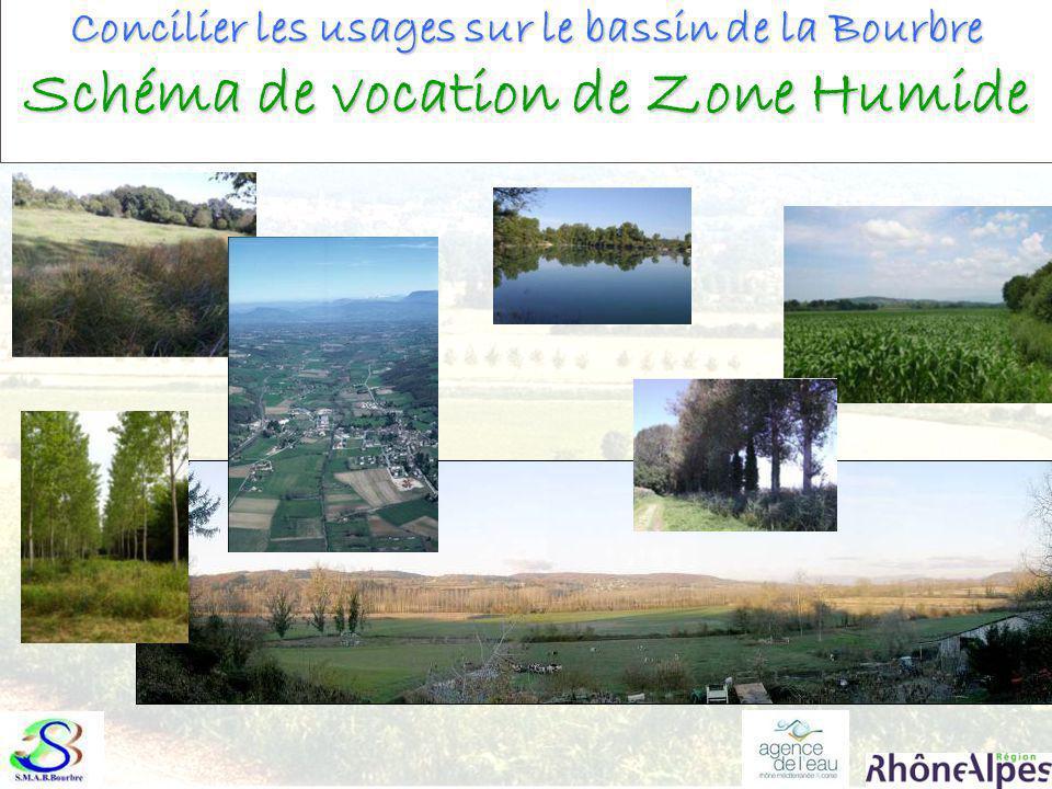 Concilier les usages sur le bassin de la Bourbre Schéma de vocation de Zone Humide