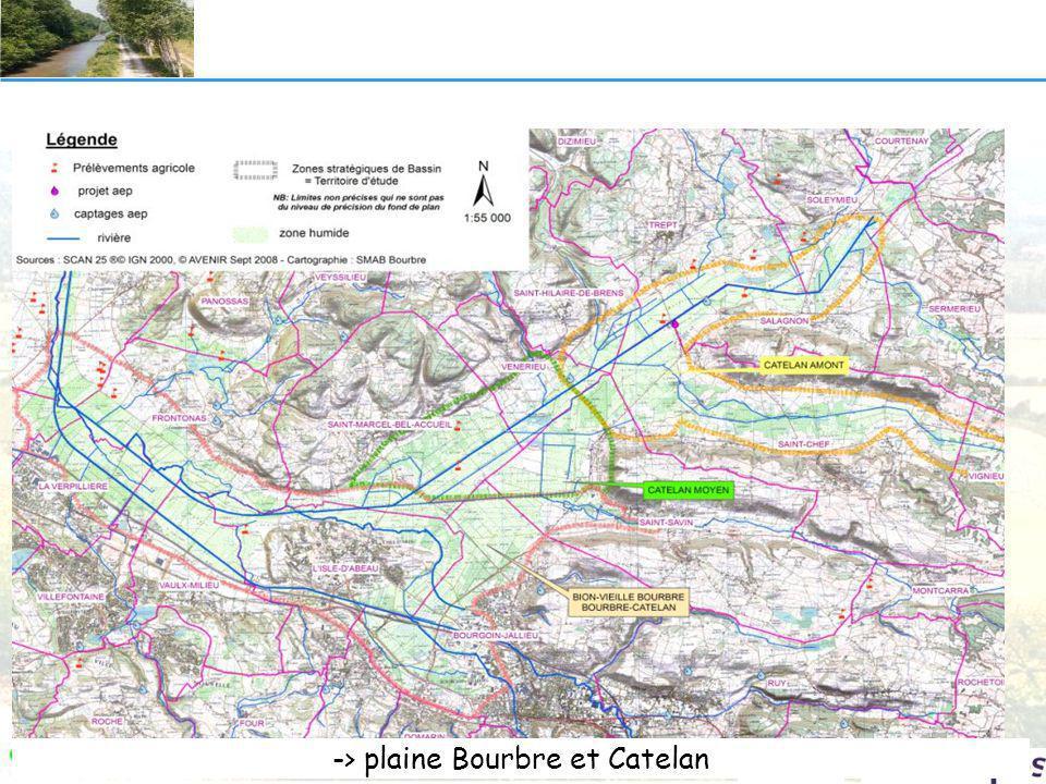 -> plaine Bourbre et Catelan