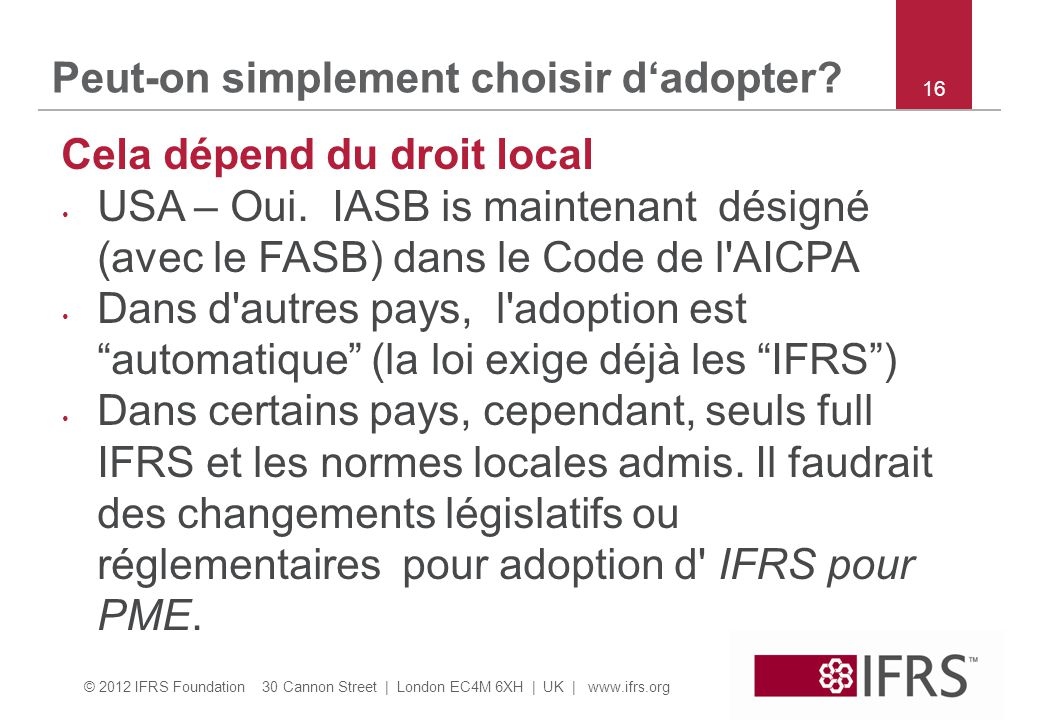Peut-on simplement choisir d'adopter