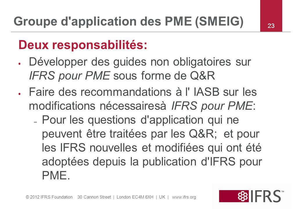 Groupe d application des PME (SMEIG)