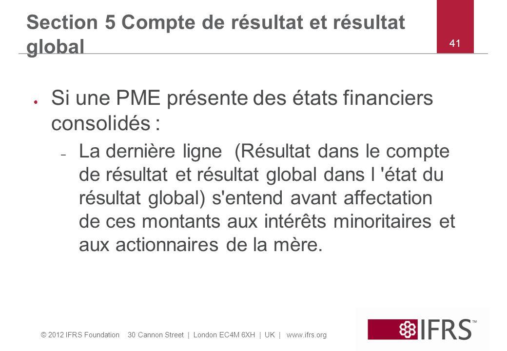 Si une PME présente des états financiers consolidés :