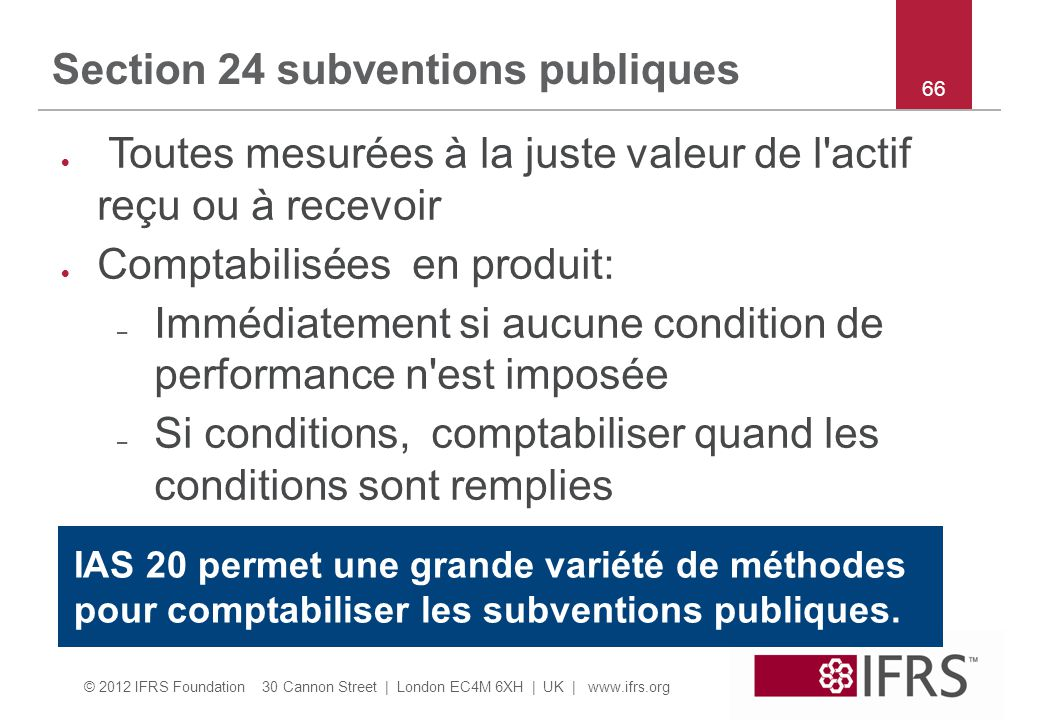Section 24 subventions publiques