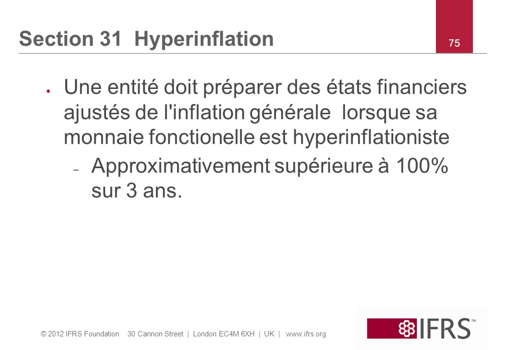 Section 31 Hyperinflation