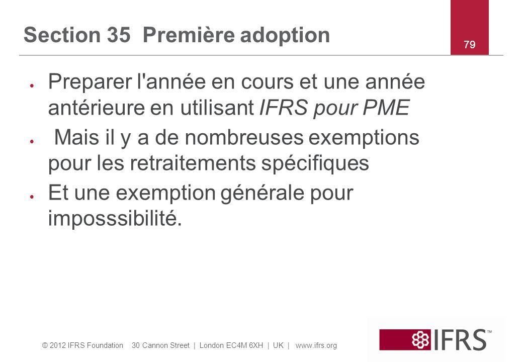 Section 35 Première adoption