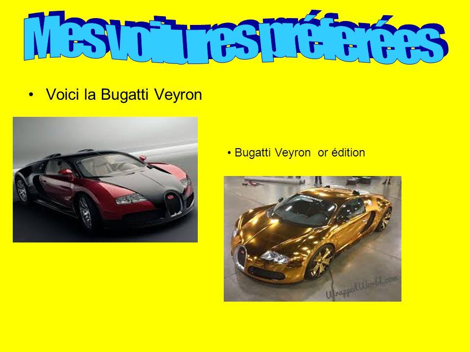 Mes voitures préferées