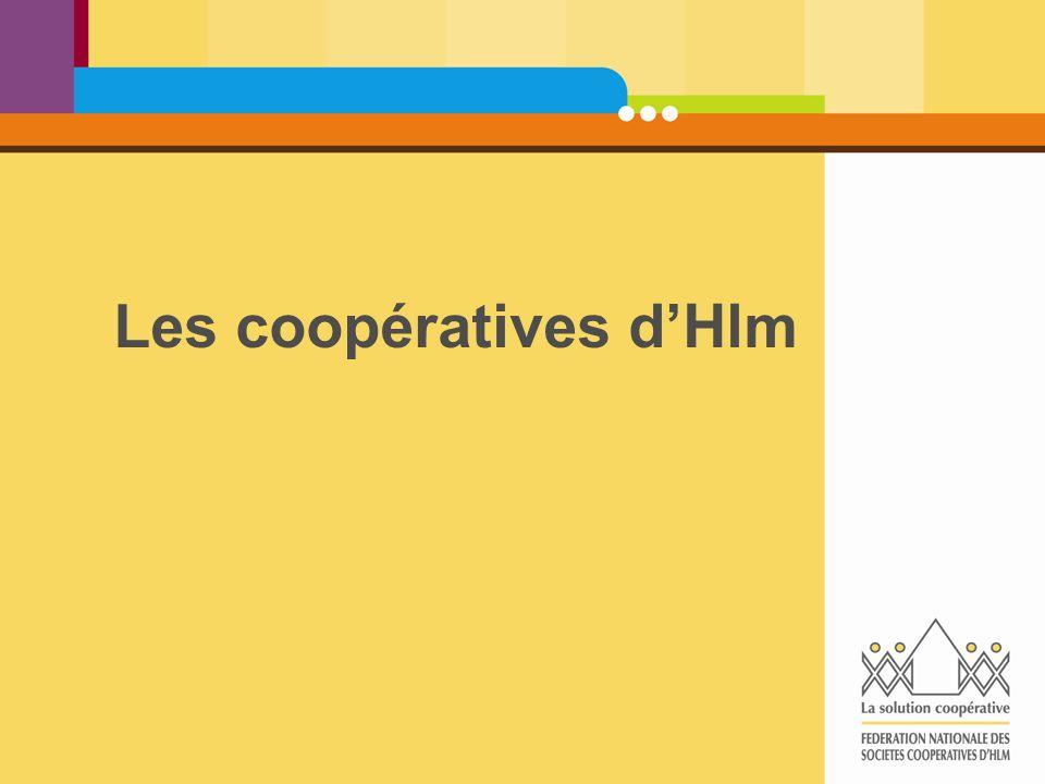 Les coopératives d'Hlm