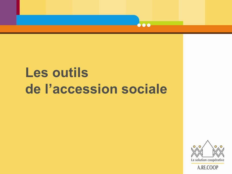 Les outils de l'accession sociale