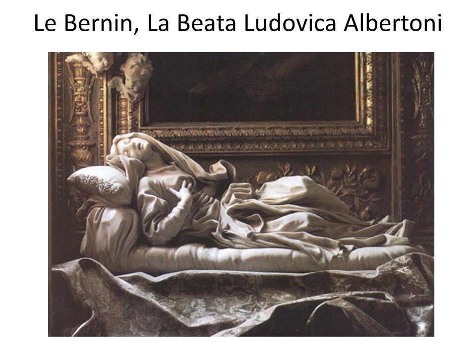 Le Bernin, La Beata Ludovica Albertoni
