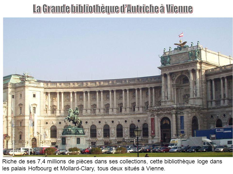 La Grande bibliothèque d'Autriche à Vienne
