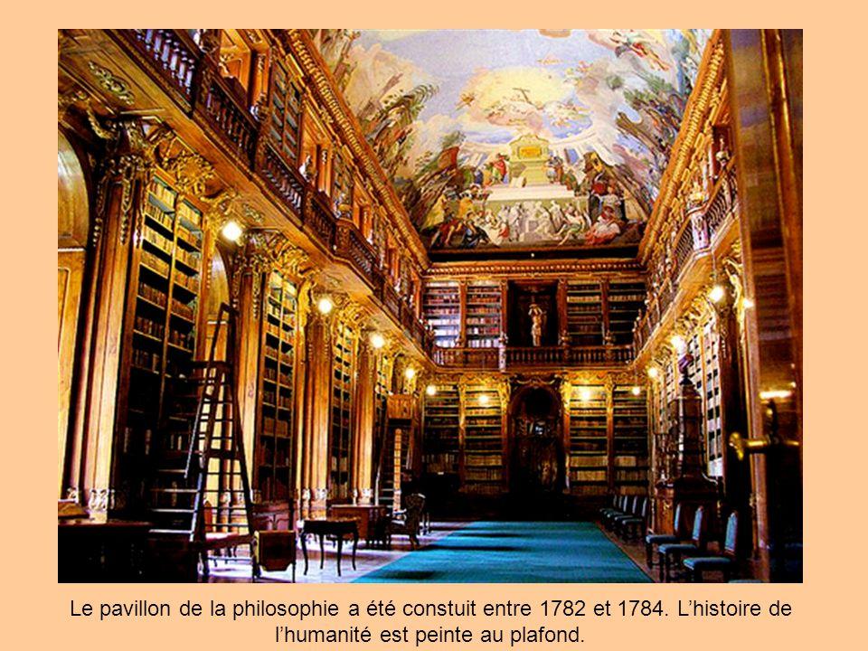 Le pavillon de la philosophie a été constuit entre 1782 et 1784