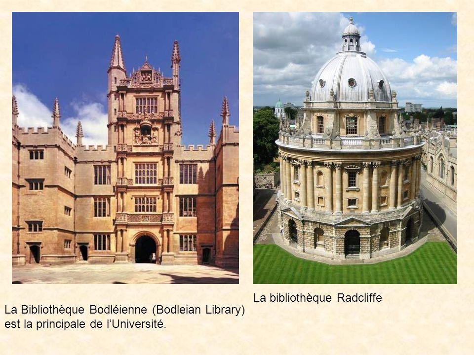 La bibliothèque Radcliffe