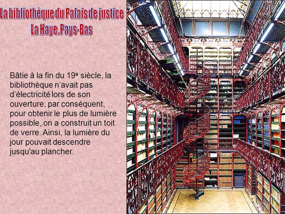 La bibliothèque du Palais de justice