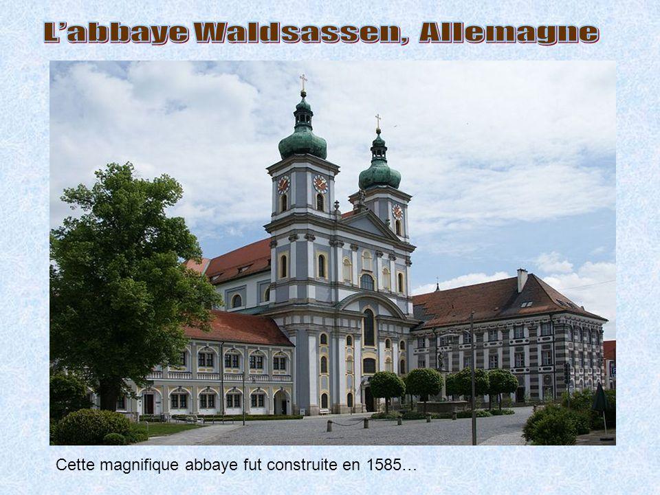 L'abbaye Waldsassen, Allemagne