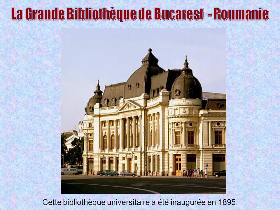 La Grande Bibliothèque de Bucarest - Roumanie