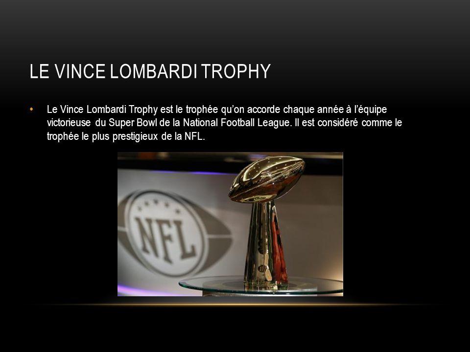 Le Vince Lombardi Trophy