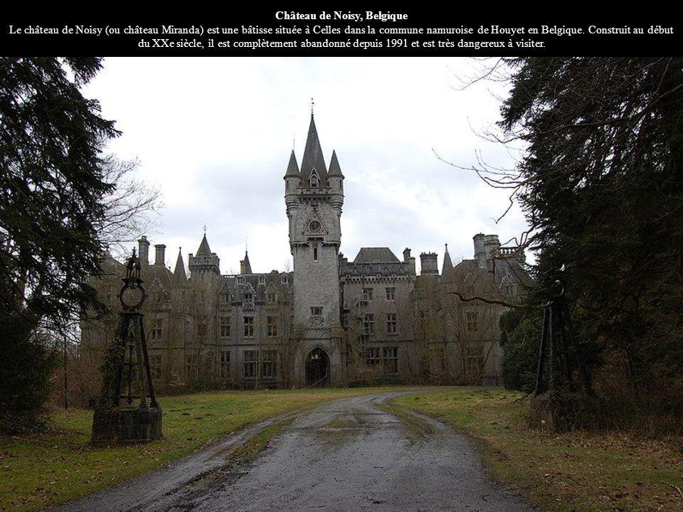 Château de Noisy, Belgique Le château de Noisy (ou château Miranda) est une bâtisse située à Celles dans la commune namuroise de Houyet en Belgique.