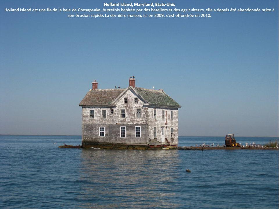 Holland Island, Maryland, Etats-Unis Holland Island est une île de la baie de Chesapeake.