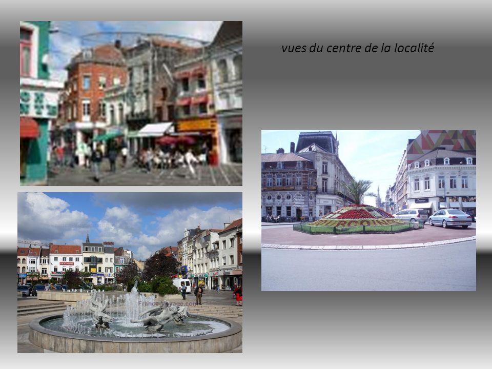 vues du centre de la localité