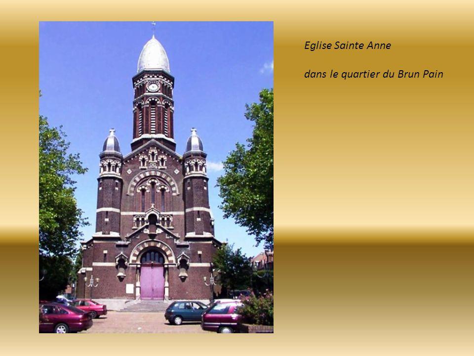 Eglise Sainte Anne dans le quartier du Brun Pain