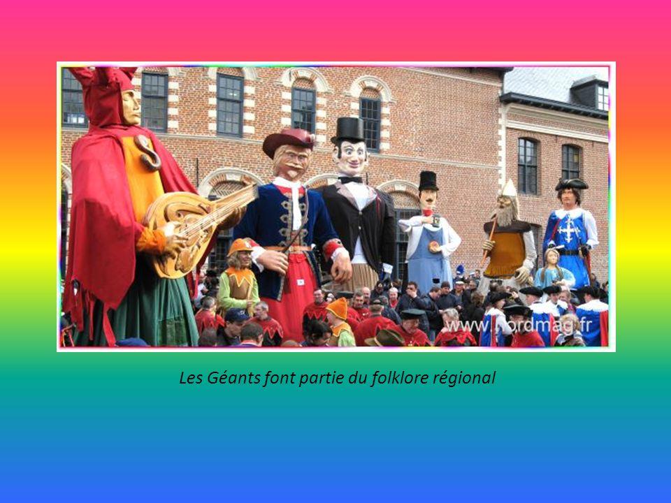 Les Géants font partie du folklore régional