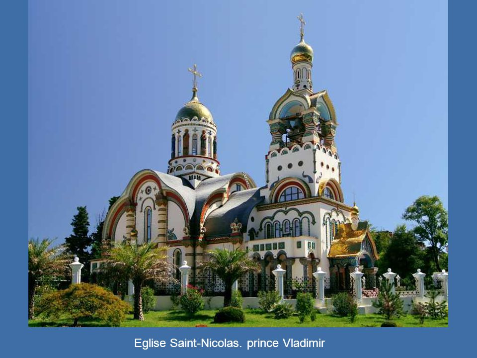 Eglise Saint-Nicolas. prince Vladimir