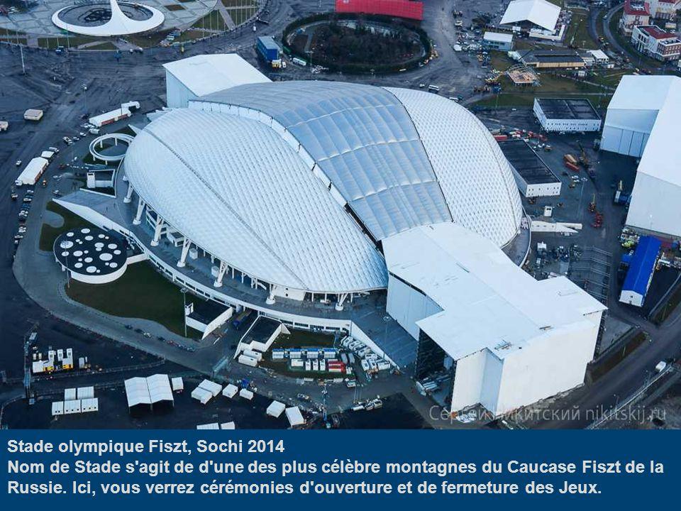 Stade olympique Fiszt, Sochi 2014