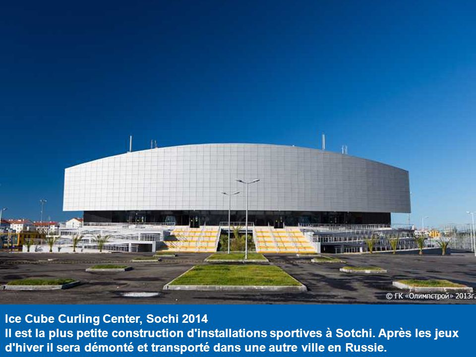 Ice Cube Curling Center, Sochi 2014
