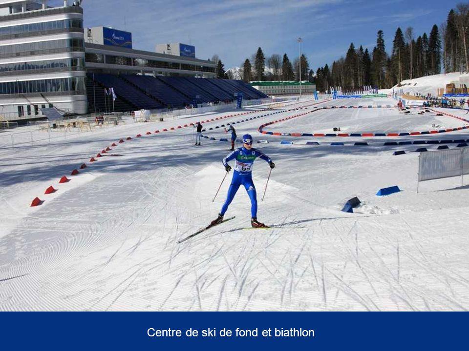 Centre de ski de fond et biathlon