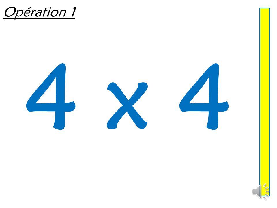 Opération 1 4 x 4
