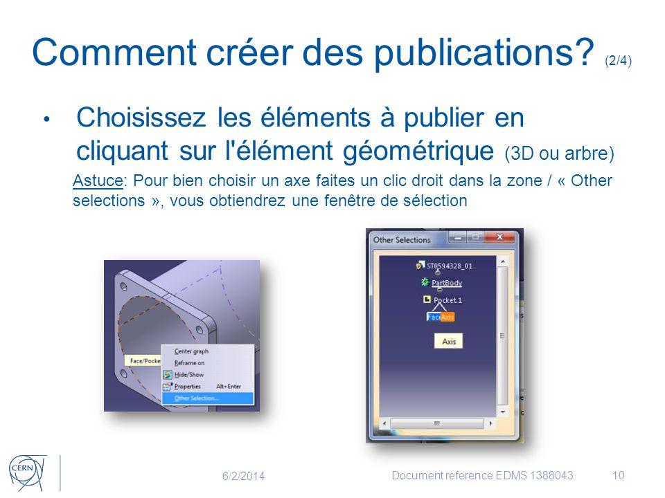 Comment créer des publications (2/4)