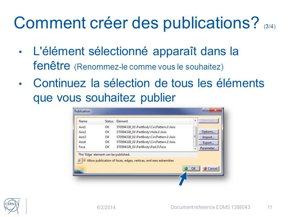 Comment créer des publications (3/4)