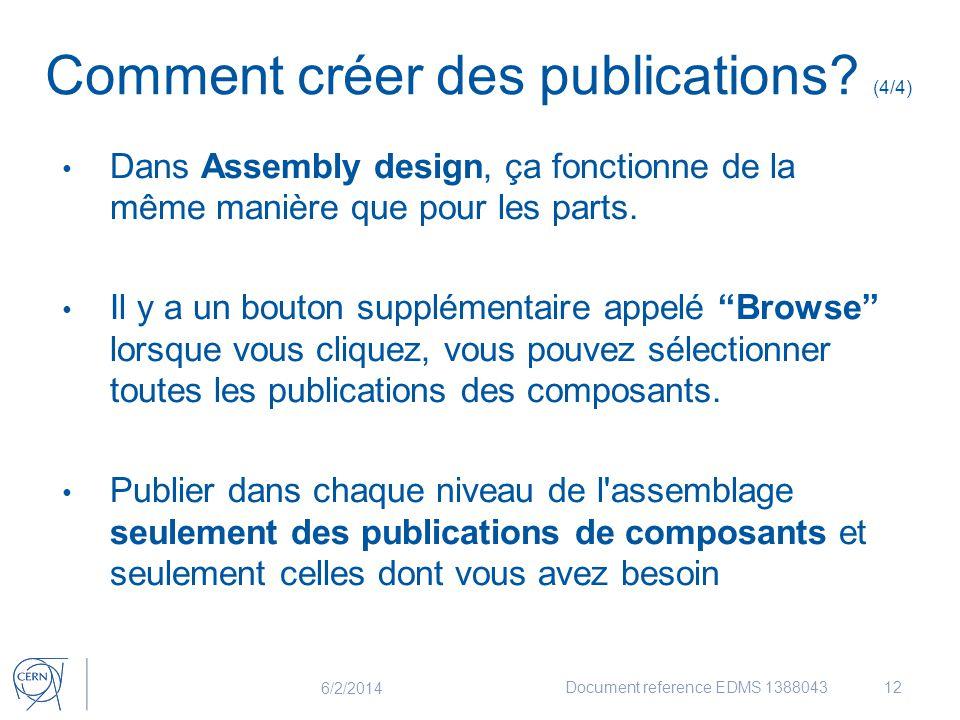 Comment créer des publications (4/4)