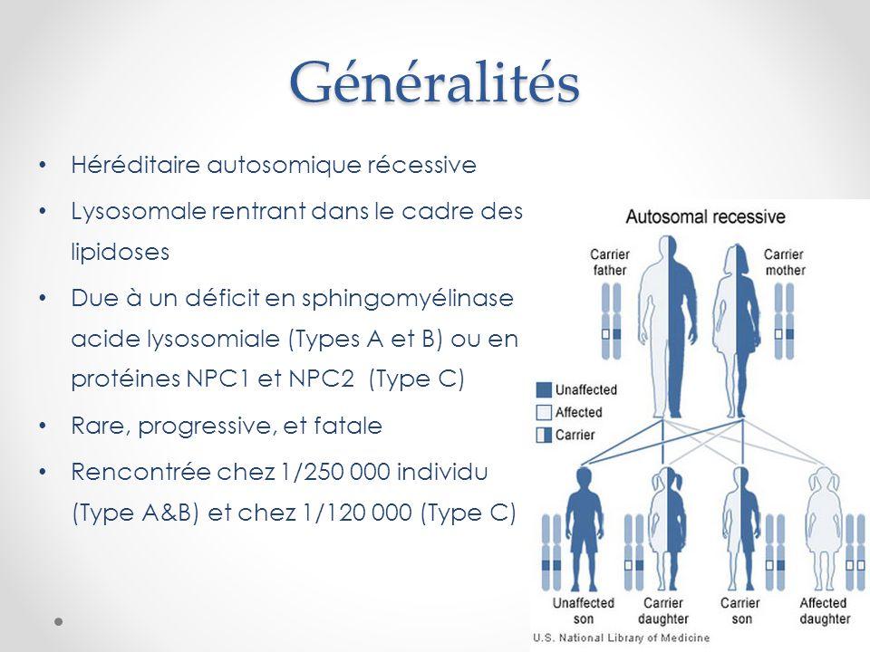 Généralités Héréditaire autosomique récessive