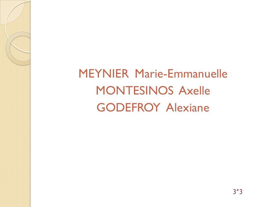 MEYNIER Marie-Emmanuelle
