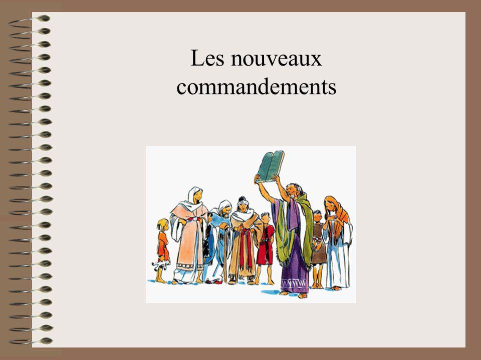 Les nouveaux commandements
