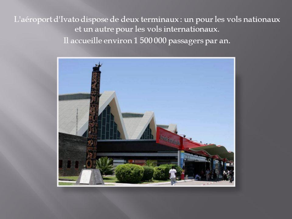 Il accueille environ 1 500 000 passagers par an.