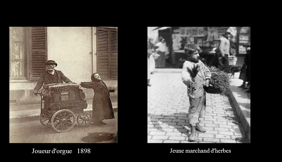 Joueur d orguee, 1898 Jeune marchand d herbes
