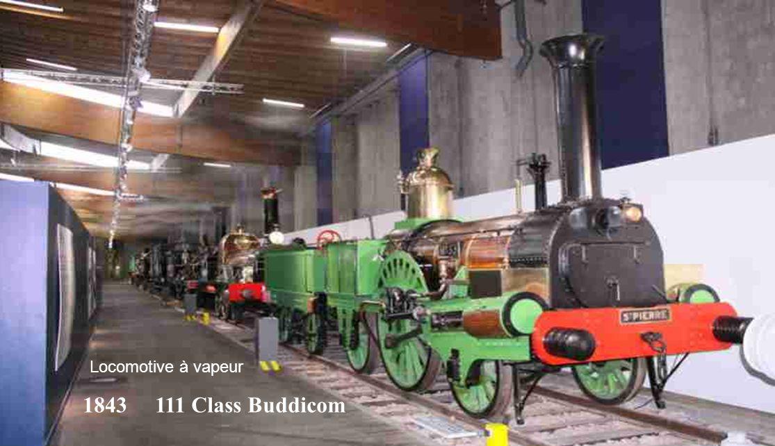 Locomotive à vapeur 1843 111 Class Buddicom