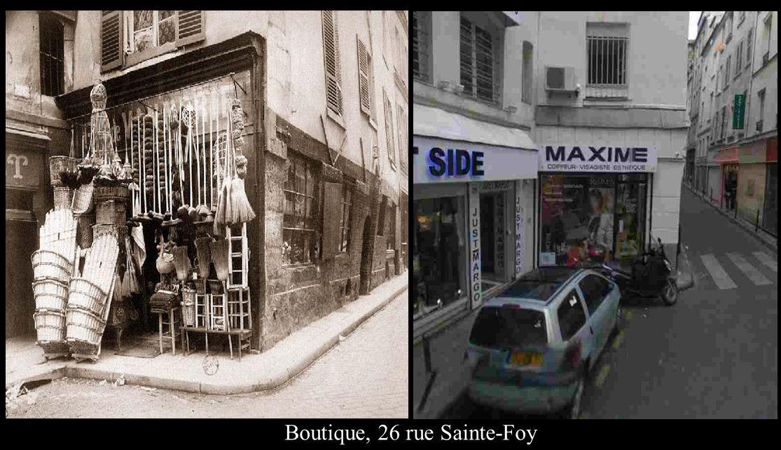 Boutique, 26 rue Sainte-Foy